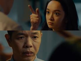 Thái Hòa 'câm nín' khi bị Kaity Nguyễn mắng thẳng mặt trong 'Hồn Papa Da Con Gái'