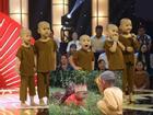 Team 5 chú tiểu 'ẵm' 100 triệu ở Thách thức danh hài lại gây sốt với siêu phẩm thầy trò Đường Tăng đi thỉnh kinh