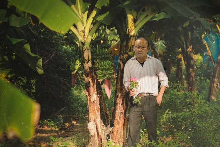 Loạt ảnh chế các tuyển thủ Việt Nam tranh thủ về quê bên vườn chuối, bờ ao tương tư như những chàng thơ gây sốt-5