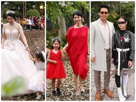 Hoa hậu Hà Kiều Anh hóa thân thành cô dâu lần đầu catwalk cùng gái nhỏ