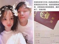 Tiểu hoa đán Trịnh Sảng bị lộ giấy đăng kí kết hôn với bạn trai sau 6 tháng hẹn hò