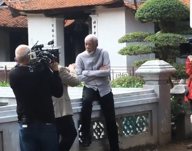 Diễn viên từng giành giải Oscar Morgan Freeman lặng lẽ tới Việt Nam-1