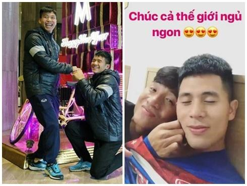 Quá thân thiết và tình cảm, cộng đồng mạng đua nhau 'ship cặp' các cầu thủ tuyển Việt Nam