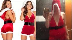 Mua váy sexy mừng Giáng sinh, mẹ hai con vỡ mộng hoàn toàn