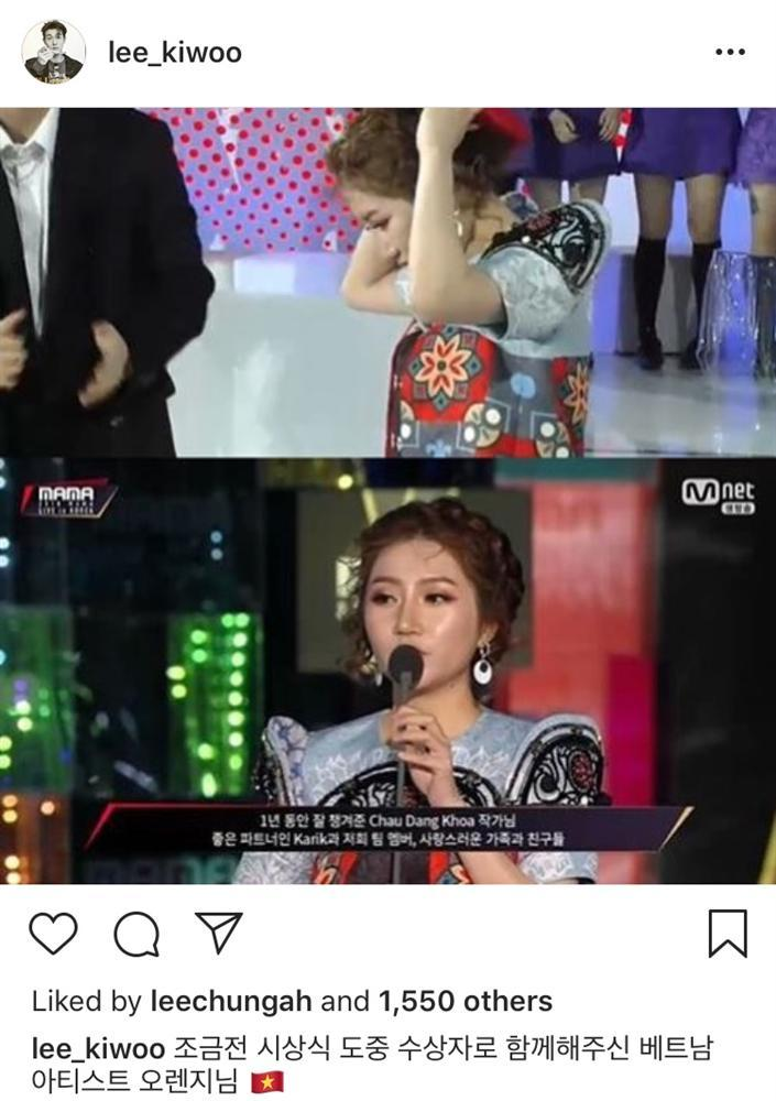 Diễn viên Lee Ki Woo nói về sự cố ngã trên sân khấu và ấn tượng về tiếng Hàn của Orange tại MAMA 2018-4