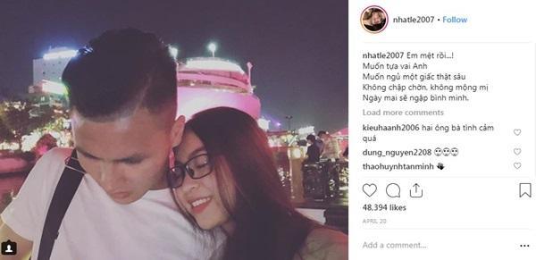 Quỳnh Búp Bê bất ngờ thả thính Quang Hải, bạn gái hotgirl ra chiêu độc khiến người xem gật gù cao tay-4