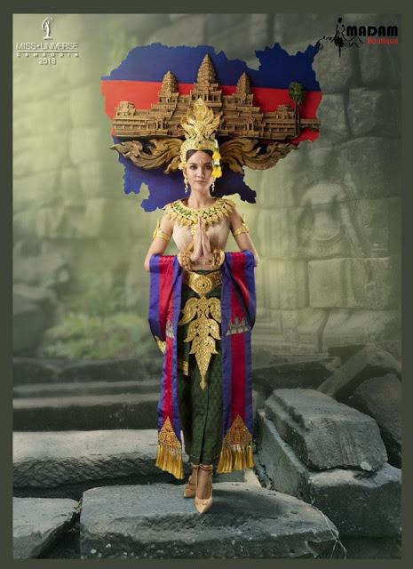 Miss Universe 2018: Quốc phục của châu Mỹ hoành tráng nhưng các thí sinh châu Á mới là đỉnh cao sáng tạo-11