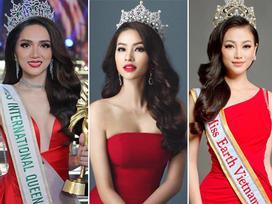 Trước Hoa hậu Trái Đất 2018 Phương Khánh, loạt bông hậu đẹp tuyệt trần cũng bị tố vô ơn, lừa thầy phản bạn