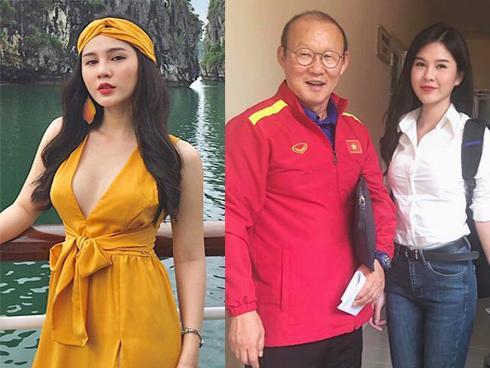 Bất ngờ trước danh tính của nữ phóng viên số hưởng được theo chân thầy Park chinh chiến tại AFF Cup 2018