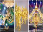 Chiêm ngưỡng loạt quốc phục 'khủng' của Hoa hậu Lào qua các năm thi MISS