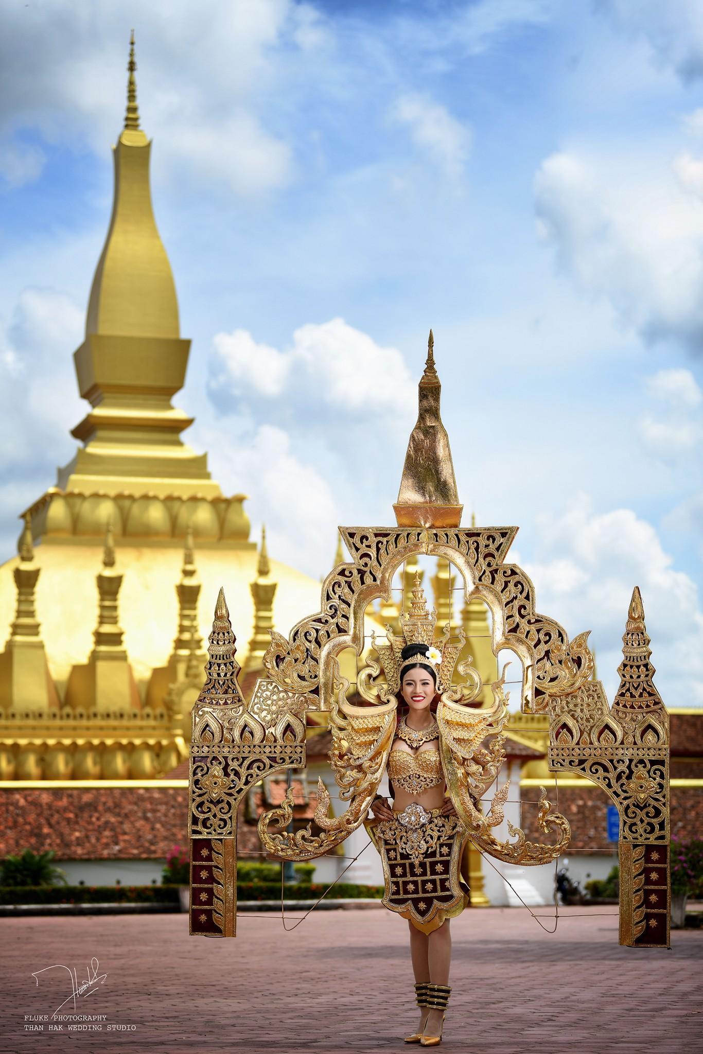 Chiêm ngưỡng loạt quốc phục khủng của Hoa hậu Lào qua các năm thi MISS-6