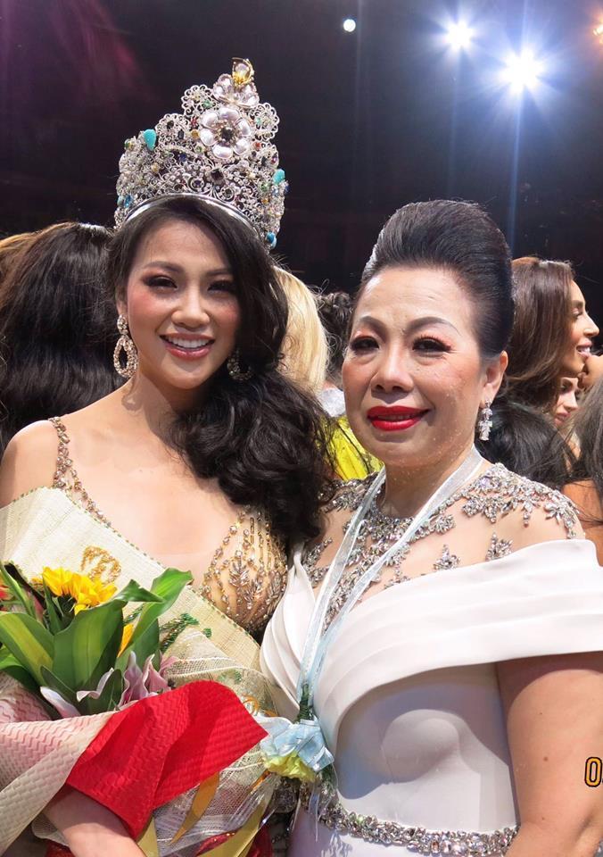 NTK Linh San nói gì trước nghi án bỏ núi tiền để ngồi ghế nóng Miss Earth 2018 chấm thi cho Phương Khánh?-5