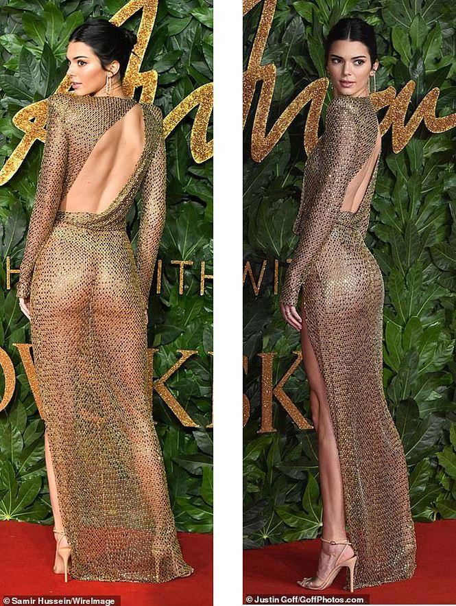 Kendall Jenner tiếp tục làm bỏng mắt người xem khi diện thiết kế không nội y-3