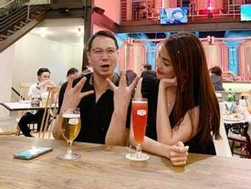 Chỉ mỗi việc ăn uống, vợ chồng Lan Khuê cũng làm 'rùm beng' mạng xã hội