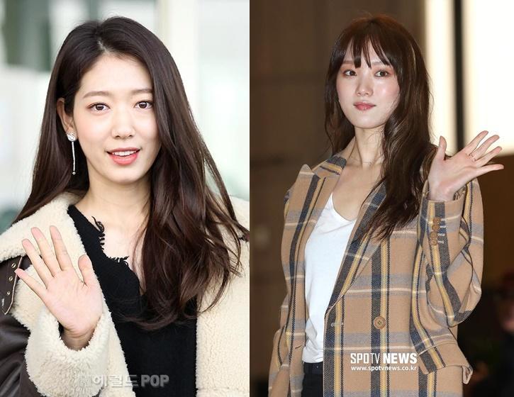 Park Shin Hye và Lee Sung Kyung đọ sắc tại sân bay-2