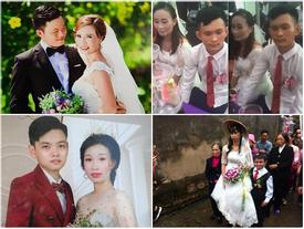 Những đám cưới 'đũa lệch' gây ồn ào, tốn 'comment' nhất năm 2018