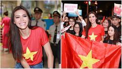 Minh Tú khiến sân bay Tân Sơn Nhất đông vui như trẩy hội khi trở về từ Miss Supranational 2018