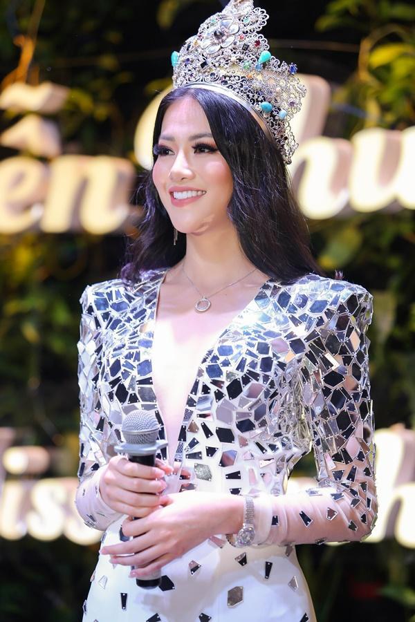 Khóc nghẹn giữa thị phi, Hoa hậu Trái Đất 2018 Phương Khánh khẳng định: Tôi không mua giải-1