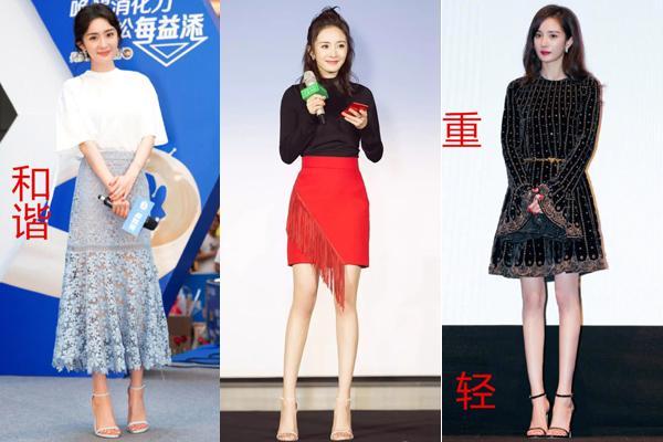 Đôi giày cao gót rộng như đi mượn được Dương Mịch diện liên tục-5