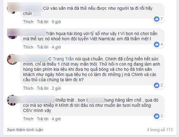 Hà Đức Chinh bị chỉ trích quả tạ, chân gỗ, Trang Trần yêu cầu Hãy là fans bóng đá có não-4