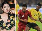 Hà Đức Chinh bị chỉ trích 'quả tạ, chân gỗ', Trang Trần yêu cầu 'Hãy là fans bóng đá có não'