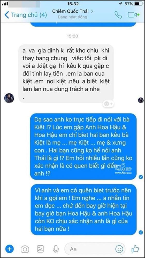 Ông bầu Trần Kiệt dọa tung ghi âm bác sĩ Chiêm Quốc Thái thú nhận Quá yêu Phương Khánh nên ghen tuông bất chấp-5