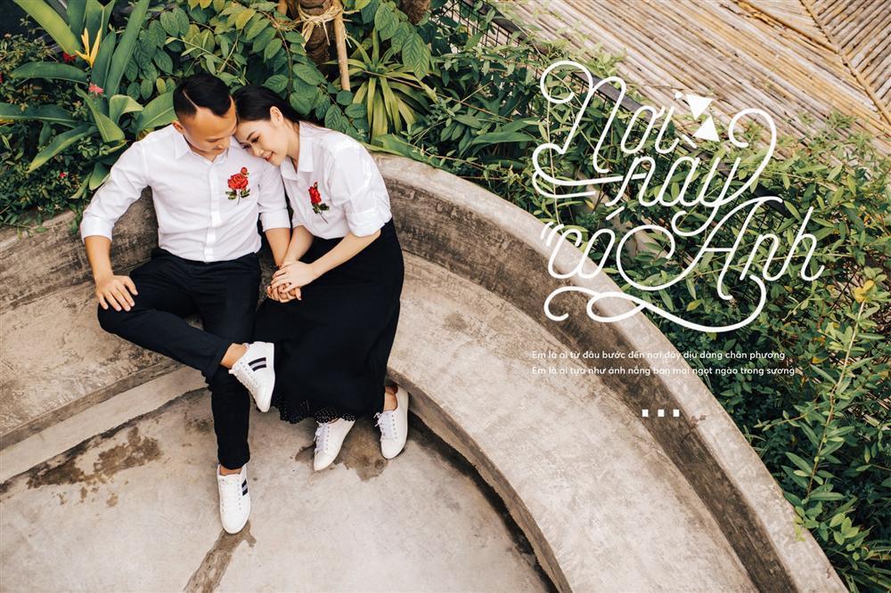 Chuyện tình yêu xa hơn cả ngôn tình của cầu thủ tuyển Việt Nam và bà xã làm trong ngành công an-2