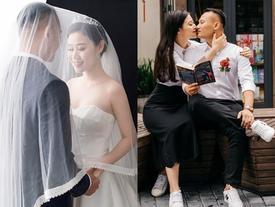 Chuyện tình yêu xa hơn cả ngôn tình của cầu thủ tuyển Việt Nam và bà xã làm trong ngành công an