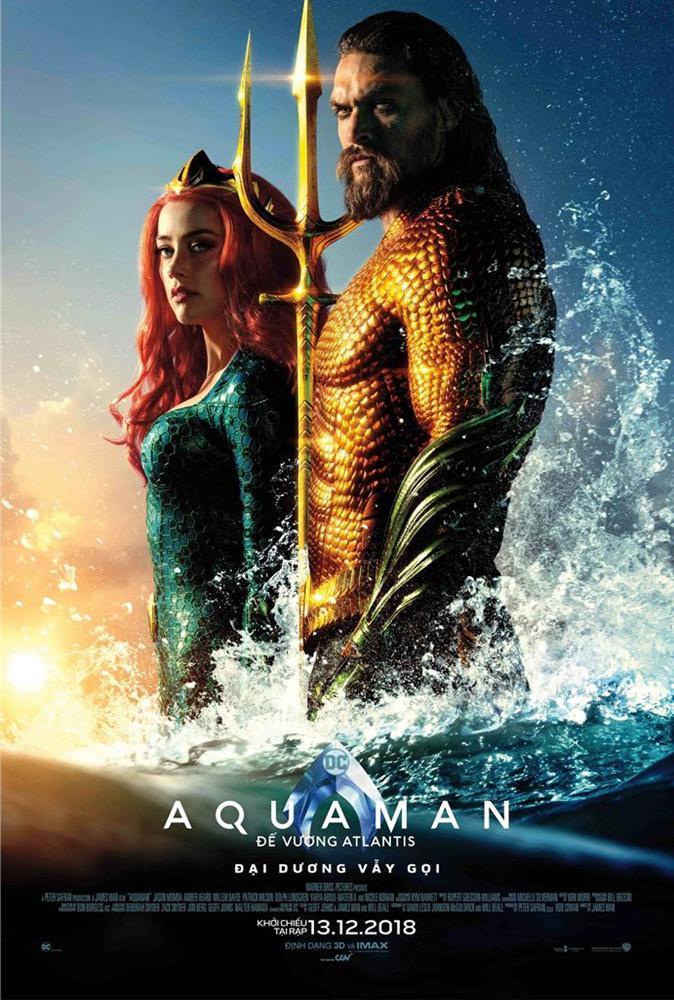 Hoa hậu Hương Giang khiến fans  ghen tị vì quá thân thiết với siêu anh hùng Aquaman-1