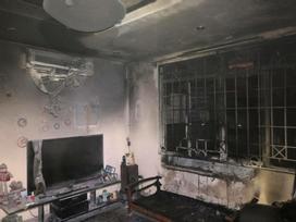 Kinh hoàng: Chăn điện phát nổ, thiêu rụi căn nhà trong đêm