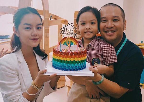Dù không còn yêu nhưng vì hạnh phúc của con, những cặp sao Việt này vẫn gặp gỡ vui vẻ như chưa hề có cuộc chia ly-5