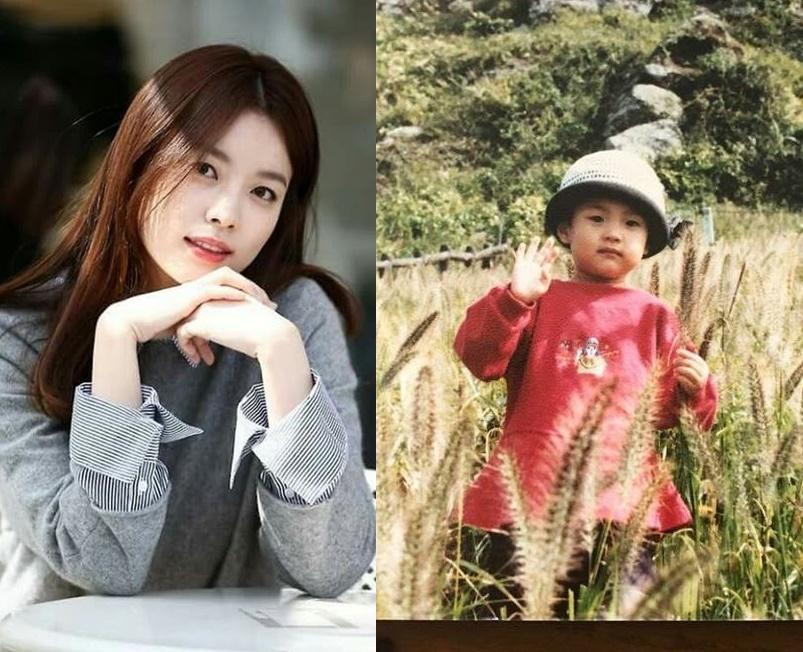 Nụ cười đẹp nhất xứ Hàn Han Hyo Joo gây sốt với hình ảnh khi xưa ta bé-1