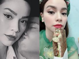 Được Kim Lý chăm sóc 'tận chân răng', Hồ Ngọc Hà hào phóng khen: 'Bạn nam của mình thật ngọt ngào'