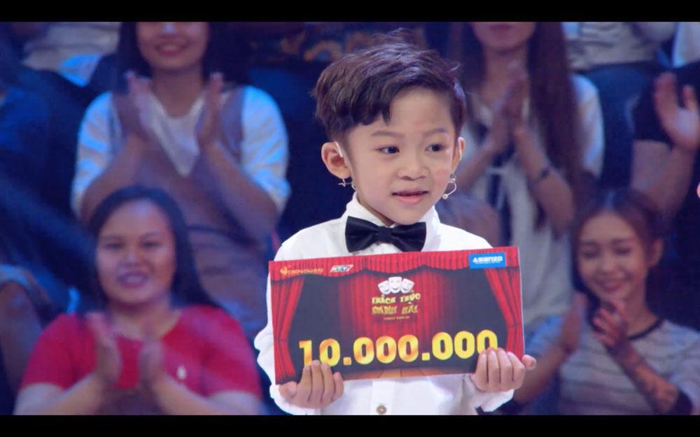Thí sinh 6 tuổi xin phép được chửi Trấn Thành, Trường Giang ở Thách thức danh hài-3