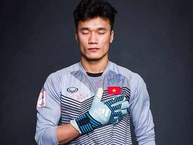 Có một năm thi đấu chưa thực sự tốt, thủ môn Bùi Tiến Dũng bất ngờ nhận 'quà khủng' trước trận đánh cuối của AFF Cup