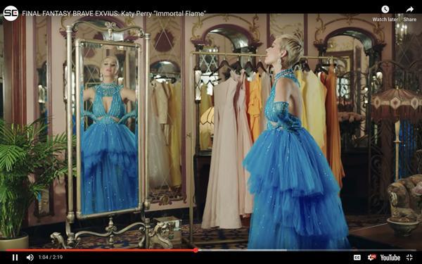Không chỉ đặt đồ diễn, Katy Perry đã mặc hẳn thiết kế của Công Trí trong MV mới Immortal Flame-1