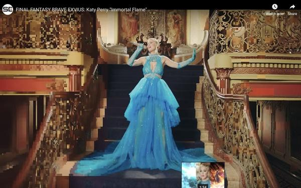 Không chỉ đặt đồ diễn, Katy Perry đã mặc hẳn thiết kế của Công Trí trong MV mới Immortal Flame-2