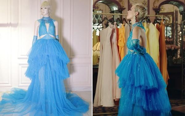 Không chỉ đặt đồ diễn, Katy Perry đã mặc hẳn thiết kế của Công Trí trong MV mới Immortal Flame-5
