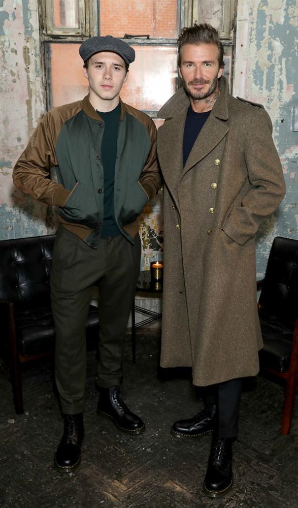 Gu thời trang ông chú của con trai David Beckham-2