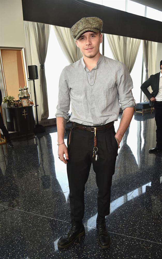Gu thời trang ông chú của con trai David Beckham-3