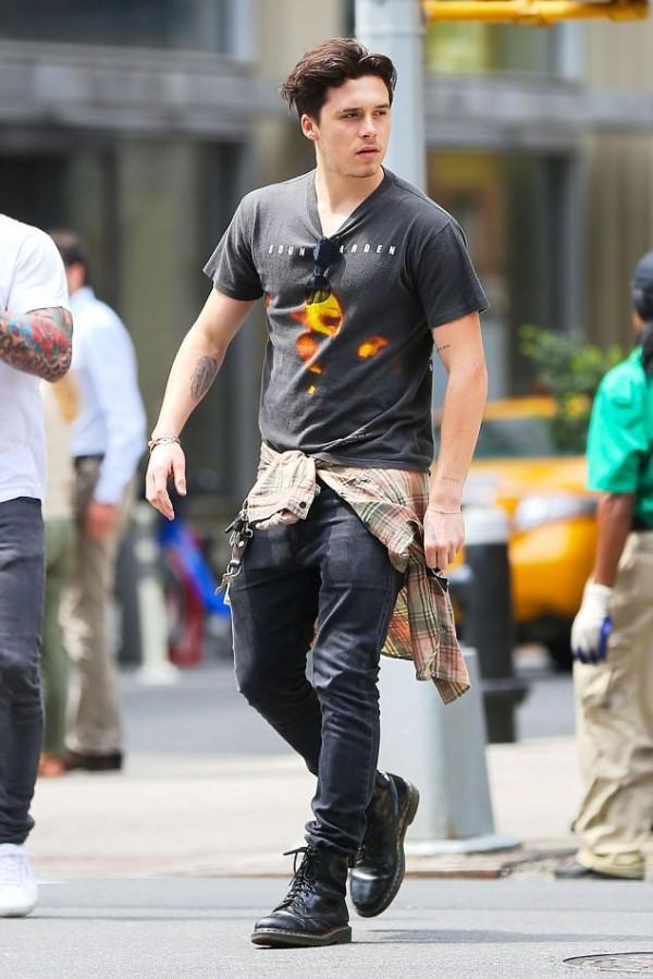 Gu thời trang ông chú của con trai David Beckham-6