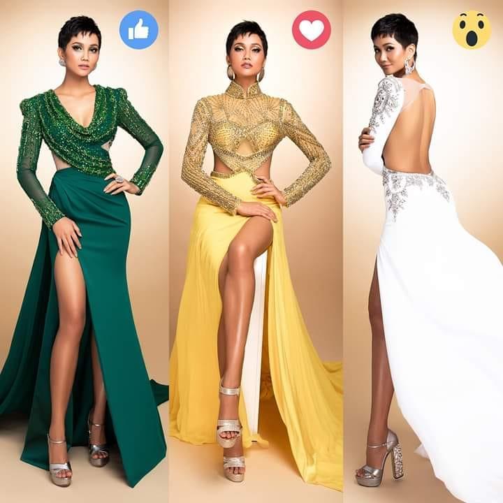 Fan thất vọng trước đầm dạ hội HHen Niê sẽ trình diễn trong đêm bán kết Miss Universe 2018-1