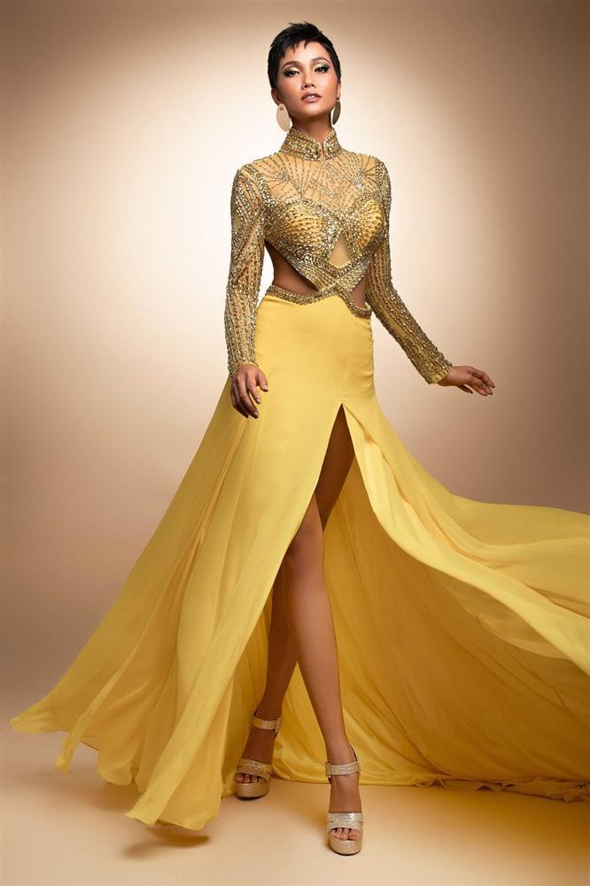 Fan thất vọng trước đầm dạ hội HHen Niê sẽ trình diễn trong đêm bán kết Miss Universe 2018-2