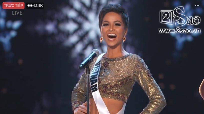 HHen Niê trình diễn bikini gợi cảm, tung váy dạ hội xuất quỷ nhập thần đêm bán kết Miss Universe 2018-25