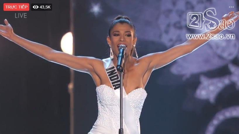 HHen Niê trình diễn bikini gợi cảm, tung váy dạ hội xuất quỷ nhập thần đêm bán kết Miss Universe 2018-37