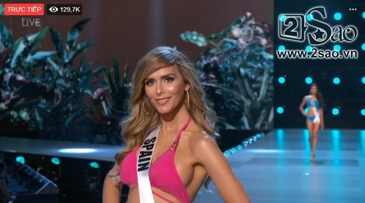 HHen Niê trình diễn bikini gợi cảm, tung váy dạ hội xuất quỷ nhập thần đêm bán kết Miss Universe 2018-19