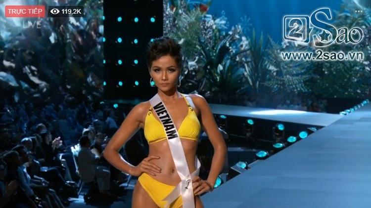 HHen Niê trình diễn bikini gợi cảm, tung váy dạ hội xuất quỷ nhập thần đêm bán kết Miss Universe 2018-14
