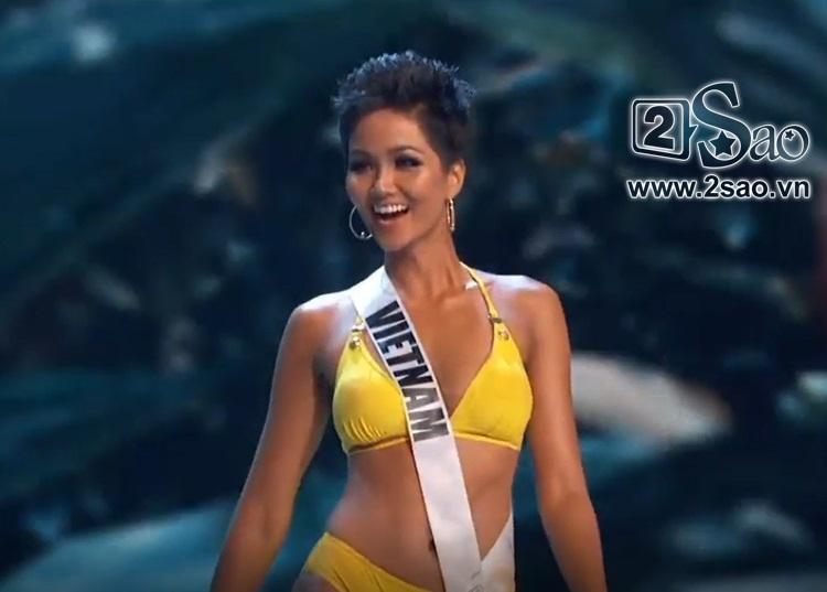 HHen Niê trình diễn bikini gợi cảm, tung váy dạ hội xuất quỷ nhập thần đêm bán kết Miss Universe 2018-13