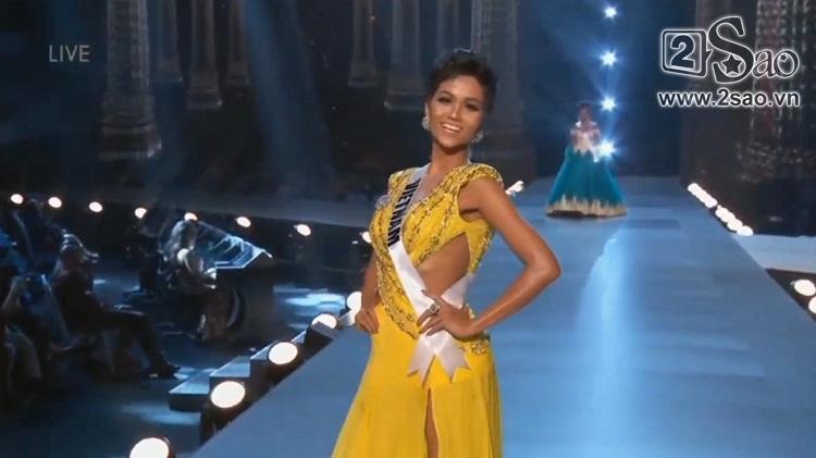 HHen Niê trình diễn bikini gợi cảm, tung váy dạ hội xuất quỷ nhập thần đêm bán kết Miss Universe 2018-2