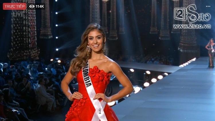 HHen Niê trình diễn bikini gợi cảm, tung váy dạ hội xuất quỷ nhập thần đêm bán kết Miss Universe 2018-12